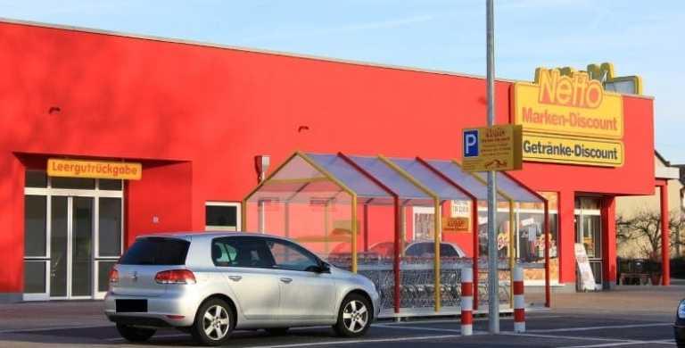 Supermarkt Außenaufnahme