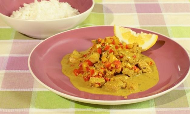 Tacchino curry e cocco – Sud-est Asia