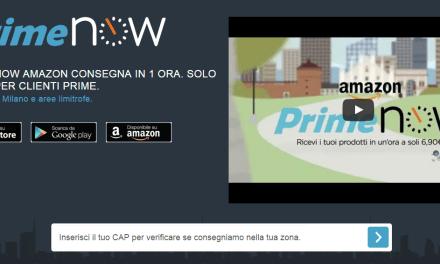 Amazon inizia a vendere prodotti freschi con Prime Now