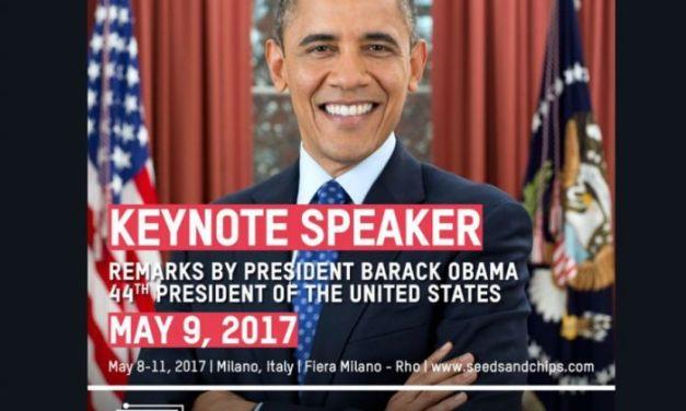 Seeds&Chips 2017: millennials, startups, food trends and…..Obama