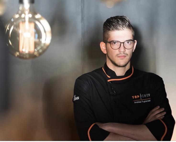 Andrea Fugnanesi : dopo Top Chef continua il suo percorso con Julienne Chiudelli