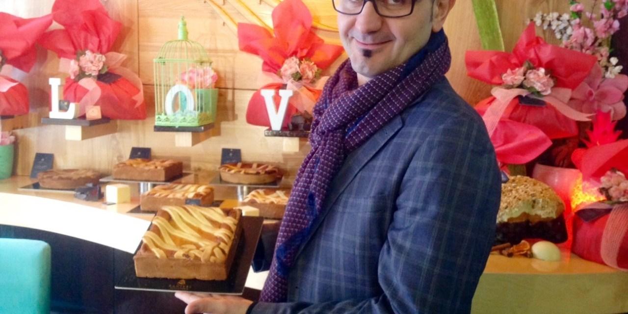Alla pasticceria Ranieri la pastiera diventa quadrata