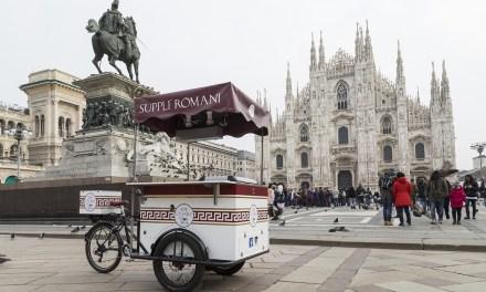 Ape Cesare lo street food romano su tre ruote ora viaggia anche in bicicletta!