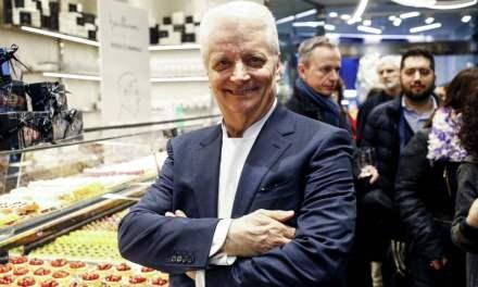 Il maestro Iginio Massari inaugura a Milano