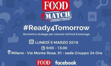 Food Match 2018: l'innovazione che vince
