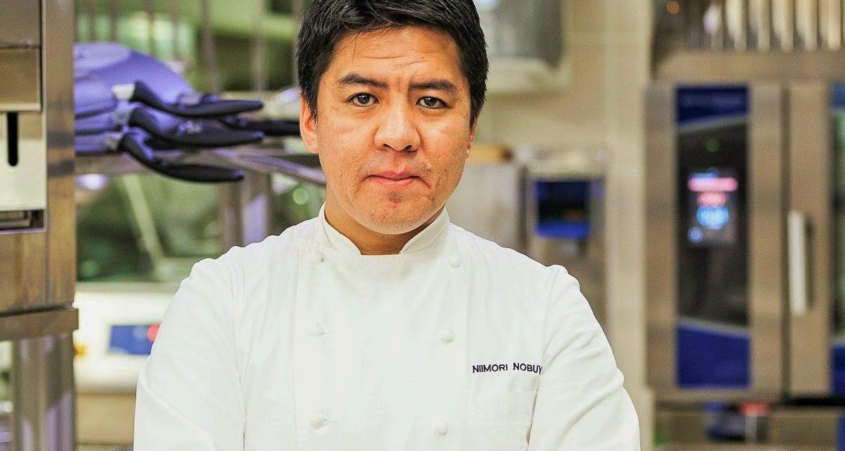 Lo chef Nobuya Niimori: la perfetta fusione tra giapponese ed italiano