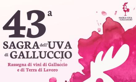 43°Sagra dell'uva di Galluccio. Rassegna di vini di Galluccio e di Terra di Lavoro