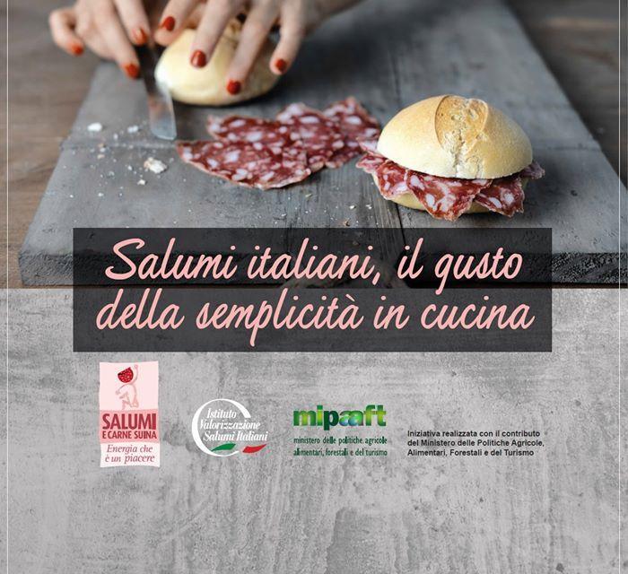"""""""Cibo a Regola d'Arte"""": talk dell'Istituto Valorizzazione Salumi Italiani"""
