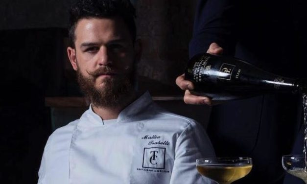 "Mattia Trabetti : lo chef del   ""The Craftsman-Restaurant & jazz club"""