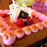 Natale rosa per la pasticceria Ranieri con la cassata Pink