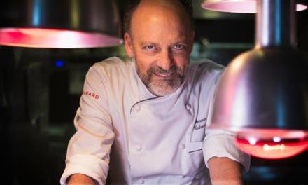 Lo chef stellato Moreno Cedroni, l'inventore del susci all'italiana