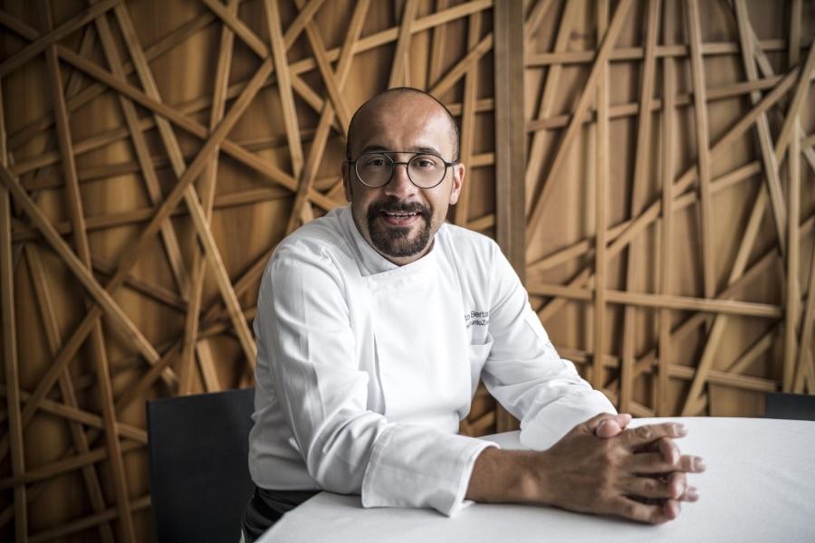Alberto Bertani, la sua cucina semplice e genuina che arriva al cuore