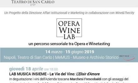 Opera Wine Lab: Laboratorio di Musica Insieme – Le Vie del Vino