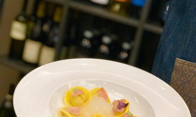 Tortello alla genovese e ventresca di tonno by Angelo Borghese