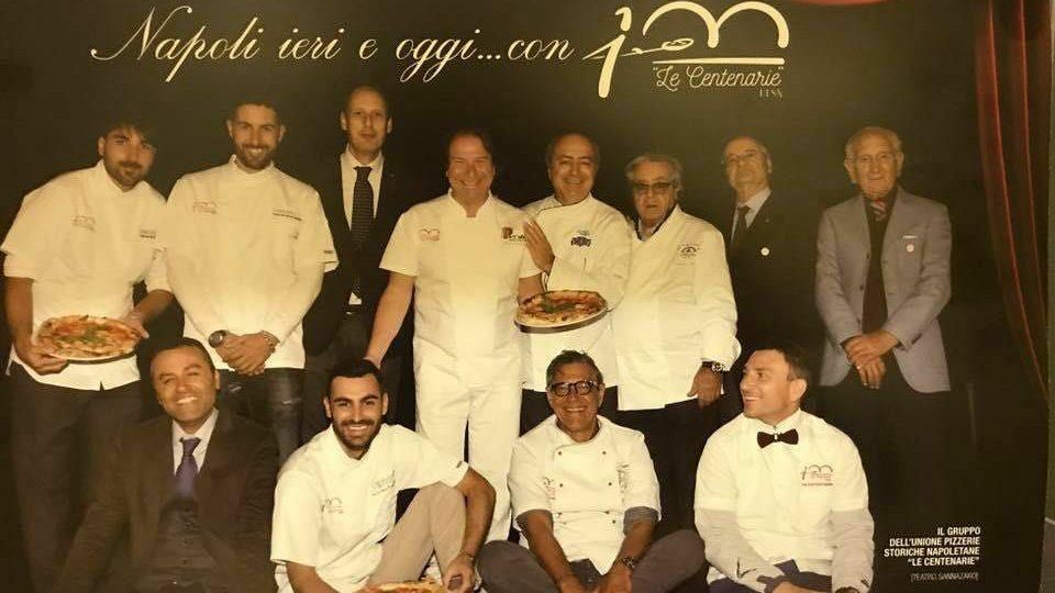 Le Pizzerie Centenarie al Bufala Fest