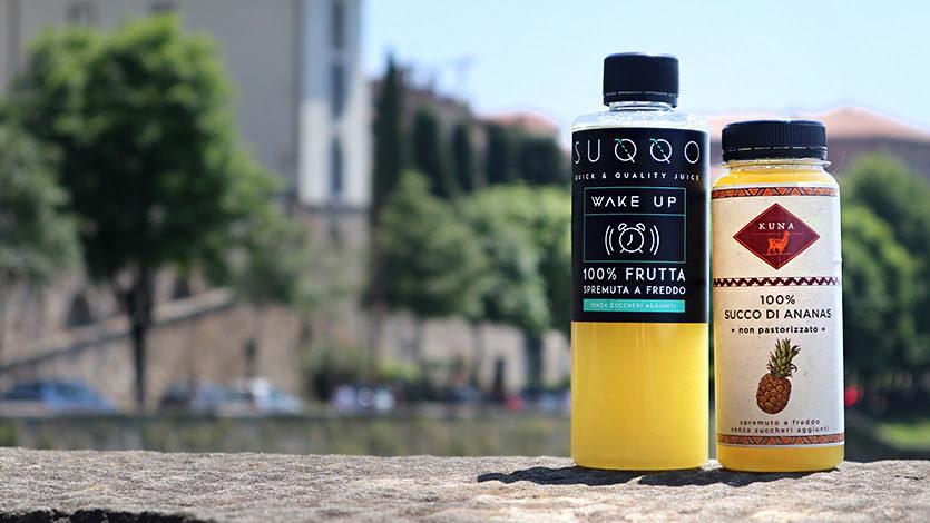 Suqqo la startup che innova il mercato dei succhi