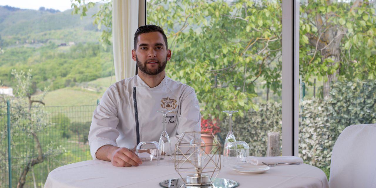 Giuseppe Lo Presti, chef de il Casale di Grimoli è pronto per Chianti Gourmet