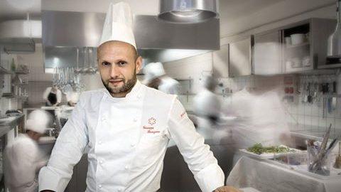 Giuseppe Stanzione: executive chef Hotel Santa Caterina