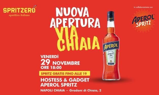 SPRITZERÒ apre due nuovi store a Napoli con spritz gratis: ecco dove.