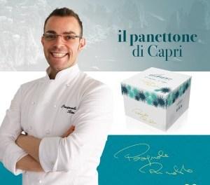 Pasquale Rinaldo ed il suo Panettone di Capri