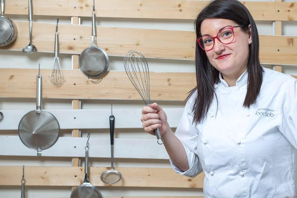Cristina Berlen: la pastry chef con gli occhiali fucsia