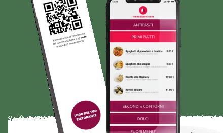 il menù digitale – il nuovo servizio per ristoranti e locali