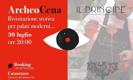 """ArcheoCena a Casa Setaro"" con lo chef Gian Marco Carli"