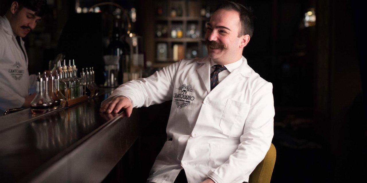 """drink cinema QUI NON SI MUORE ispirato a """"Benvenuti al Sud"""", di Dario Tortorella, bartender de L'Antiquario di Napoli"""