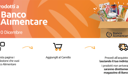 Colletta Alimentare: i clienti di Amazon.it hanno donato 30 tonnellate di generi alimentari