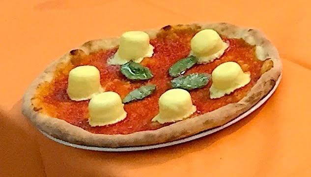 LA DOLCE MARGHERITA  A San Valentino, Miozzo propone lapizza dessert