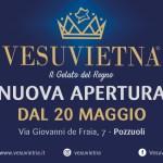 Apre a Pozzuoli  Vesuvietna, il Gelato del Regno