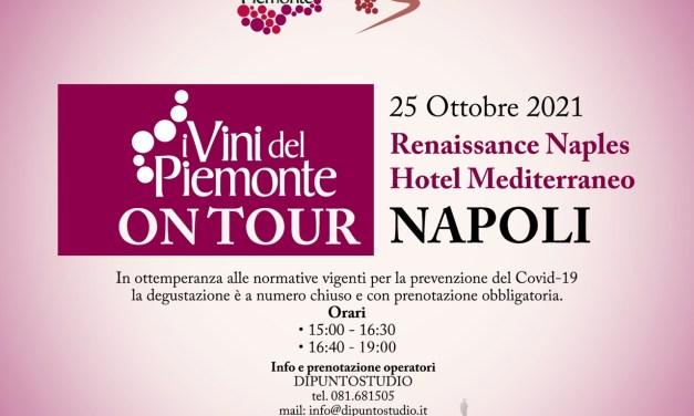 I Vini del Piemonte on tour a Napoli – edizione 2021