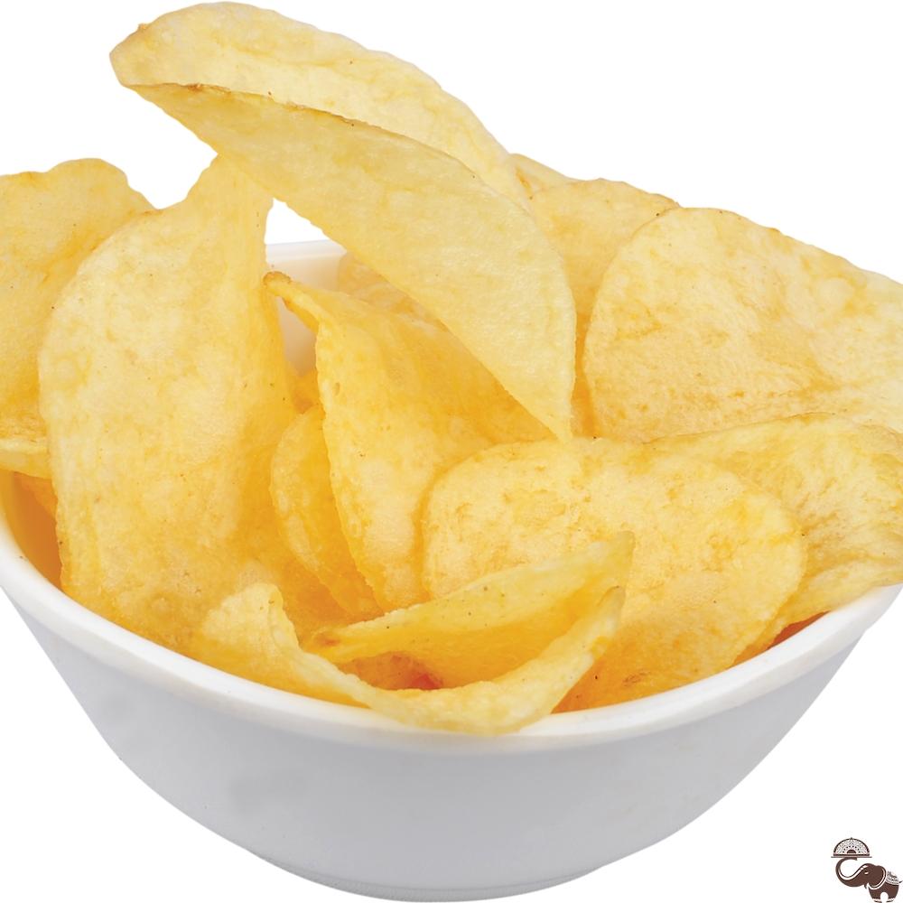 Heart Shaped Potato Chips