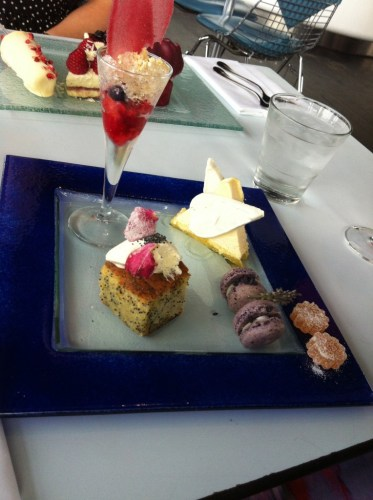 Flower Power Afternoon Tea at Oxo Tower