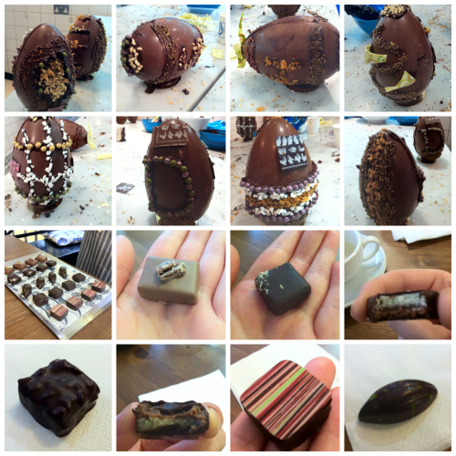 Easter Egg Decorating at Rococo Chocolates, London