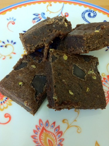 Home-made Paul A Young Brownies