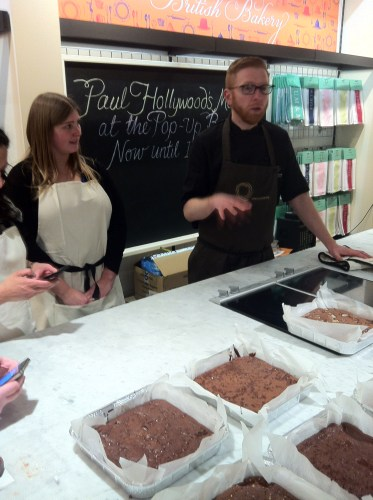 Paul A Young Brownies at Fortnum and Mason