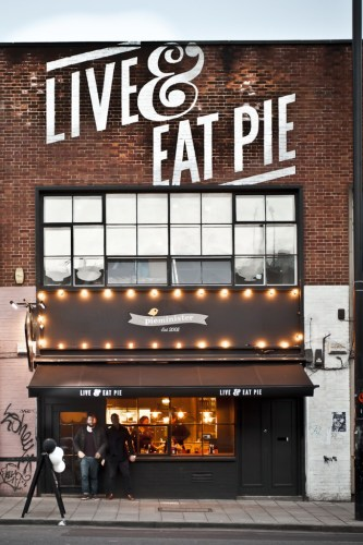 Live and Eat Pie, Pieminister, Bristol