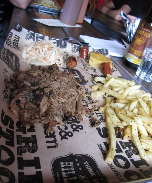 Pulled Pork Grillstock
