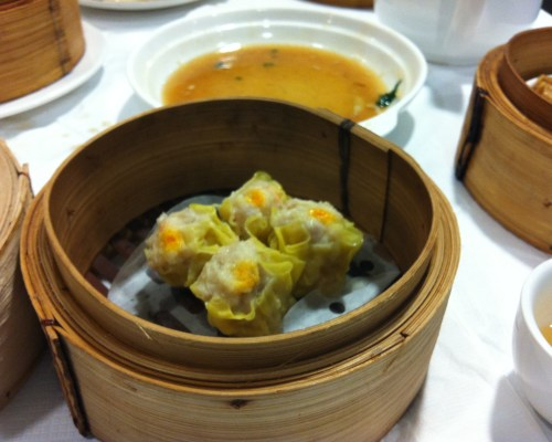 Siu Mai, Mayflower Chinese Restaurant, Bristol