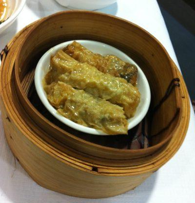 Bean Curd Skin Rolls, Mayflower Chinese Restaurant, Bristol