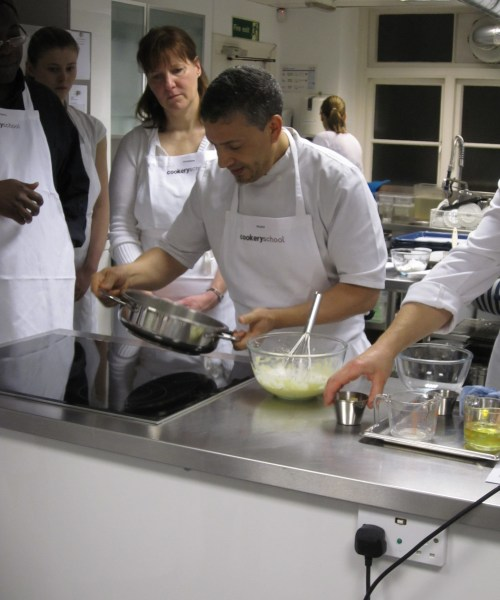 Cookery Demonstration at London Cookery School