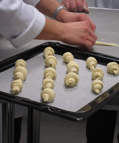 Mini Croissant at London Cookery School