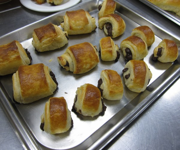 Pain au Chocolat at London Cookery School