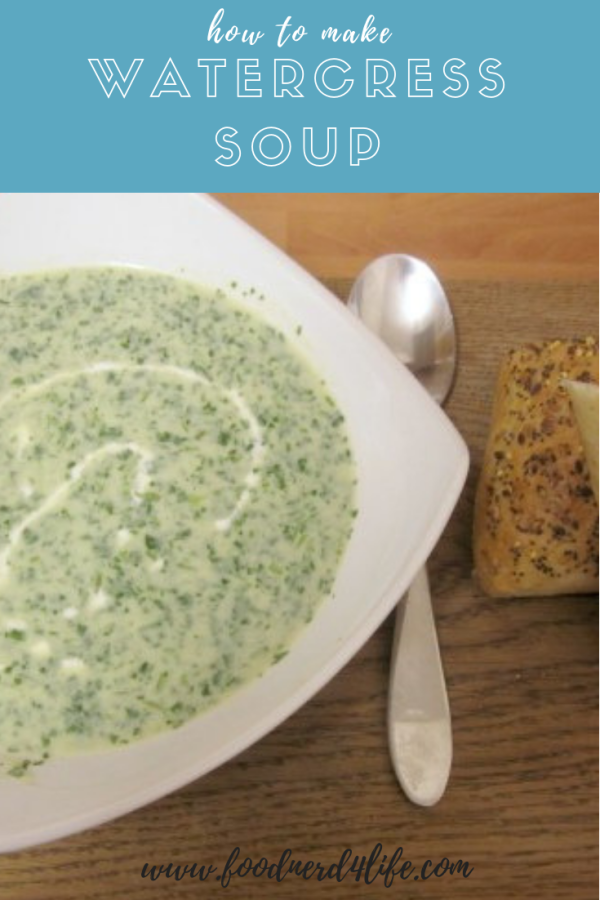 Watercress Soup Pin