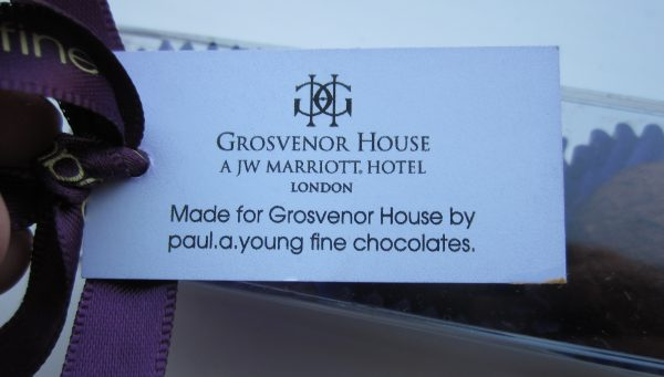 Grosvenor House Afternoon Tea Truffles