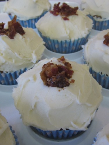 Ryan Gosling Bacon and Maple Syrup Cupcakes