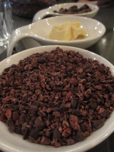 Bean to Bar Chocolate Ingredients, Hotel Chocolat, School of Chocolate, London