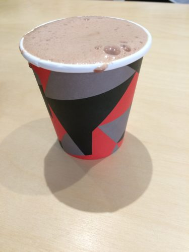 Hot Chocolate at Mast Brothers, London