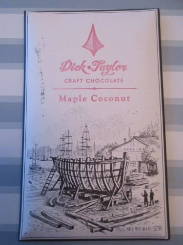 Dick Taylor Craft Chocolate Maple Coconut